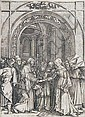 Marcantonio Raimondi, Die Vermählung Mariens. Nach 1505.