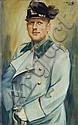 Paul Oberhoff, Herrenportrait. 1928.
