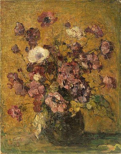 Guillaume Vogels (zugeschr.), Blumenstilleben. Late 19th cent.