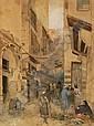Unbekannter Künstler, Orientalischer Basar. Late 19th cent.