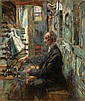 Hugo Mieth, Der Organist. Early 20th cent.