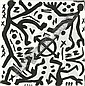 A. R. Penck, Figurenkomposition.