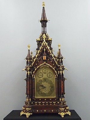 A & H Rowley Bracket clock