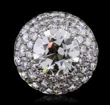 Platinum 17.13ctw Diamond Ring