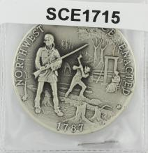 1787 Silver Commemorative Medal