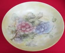 French hand painted bowl