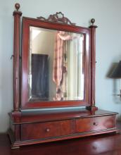 19th Cent Gentleman's Dressing Mirror