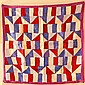 Mid-20th C. Silk Bojagi, Korean Wrapping Cloth