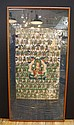 Framed Tibetan Thangka 17-18th Cent