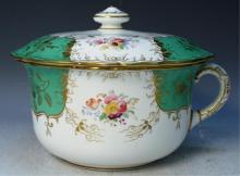 English BWM & Co Porcelain Chamber Pot c 1910-1920