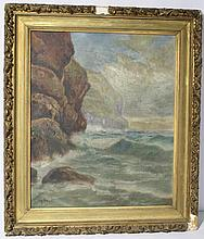 Landscape Painting, possibly by Marius Bauer
