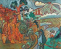 Landscape of Bali, Iseh