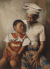 Child with Grandfather