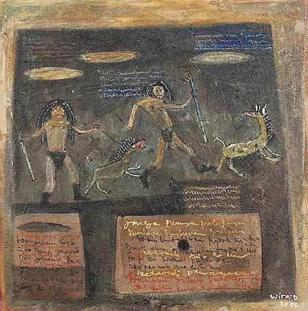 Wiradana, I Made (b. Denpasar, Bali) Berburu 2000