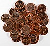ONE ROLL ( 50 ) COINS GEM PROOF LINCOLN CENTS,  1963 AND OLDER