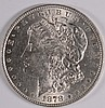 1878 7-TF MORGAN SILVER DOLLAR, MS-62 WHITE!
