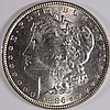 1886 MORGAN SILVER DOLLAR, MS-65 BLAST WHITE!