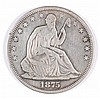 1875-S SEATED HALF DOLLAR VF