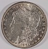 1891 MORGAN SILVER DOLLAR, MS-63++ BLAST WHITE!