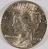 1935 PEACE SILVER DOLLAR, MS-63+  BLAST WHITE