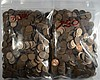 ( 1500 ) UNSEARCHED WHEAT CENT LOT 1958 AND EARLIER  MANY STEEL CENTS INCLUDED