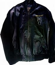 MICHAEL JACKSON HISTORY TOUR LEATHER JACKET.
