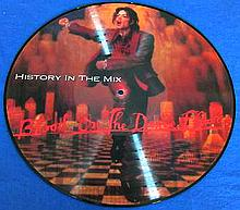 MICHAEL JACKSON HISTORY IN THE MIX BLOOD ON THE DANCEFLOOR PICTURE LP.