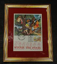 WINNIE THE POOH 1997 FIRST DAY ISSUE COVER.