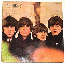 GEORGE HARRISON AND OTHERS SIGNED 'BEATLES FOR SALE' LP