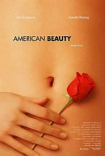 AMERICAN BEAUTY LARGE FILM POSTER.