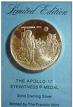 THE APOLLO 17 EYEWITNESS MEDAL