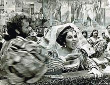 ELIZABETH TAYLOR-THE TAMING OF THE SHREW ORIGINAL PHOTO