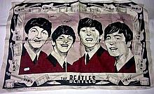 THE BEATLES - IRISH LINEN TEA TOWEL