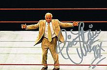 A RICK FLAIR SIGNED PHOTO