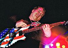 A COLLECTION OF MEAT LOAF IN THE USA CONCERT PHOTOS