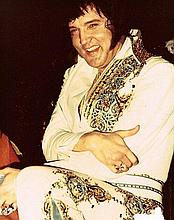 ORIGINAL ELVIS PRESLEY 1976 PHOTO