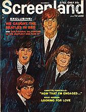 THE BEATLES - SCREENLAND MAGAZINE