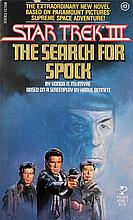 STAR TREK III - THE SEARCH FOR SPOCK BOOK.