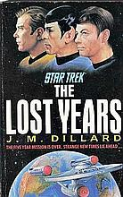 STAR TREK - THE LOST YEARS BOOK.