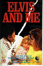 ELVIS AND ME MOVIE UK VHS.