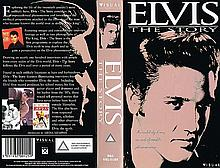 ELVIS PRESLEY - ELVIS THE STORY. UK VHS