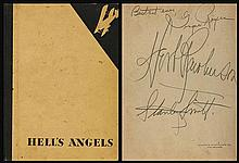 GINGER ROGERS/BEN LYON SIGNED HELLS ANGELS 1930 PROGRAM.
