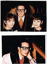 COLLECTION OF MODERN BUDDY HOLLY PRINTS.
