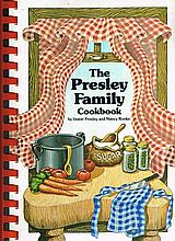 PRESLEY FAMILY COOK BOOK SIGNED BY VESTER PRESLEY