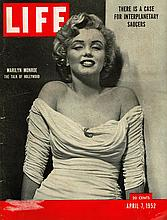 MARILYN MONROE APRIL 7TH 1952 LIFE MAGAZINE