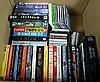 BOX OF FILM AND BOOK MEMORABILIA.