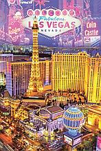WELCOME TO FABULOUS LAS VEGAS POSTER 24X36 INCHES.