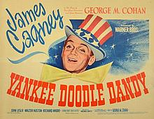 YANKEE DOODLE DANDY JAMES CAGNEY ORIGINAL USA 1942 TITLE LOBBY CARD.