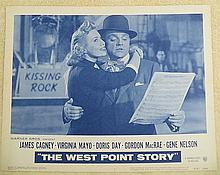 WEST POINT STORY JAMES CAGNEY ORIGINAL LOBBY CARD