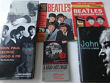 A COLLECTION OF BEATLES MAGAZINES AND BOOKS.